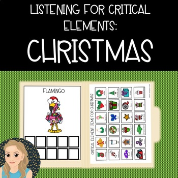 Listening for Critical Elements: Christmas