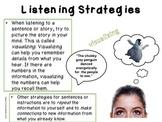 Listening for Main Ideas & Details!