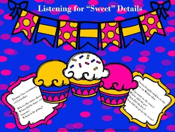 """Listening for """"Sweet"""" Details in Speech-Language Therapy"""