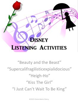 Listening for The Elements of Music, Disney Songs Vol. 1