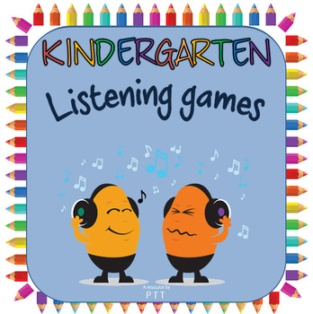 Listening games for K / pre-K Pre-reading sound activities