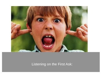 Listening on the First Ask