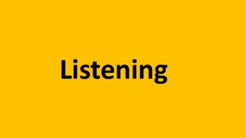 How can we listen better?