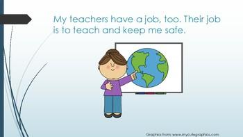 Social Story- Listening to My Teachers