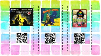 Listening to Picture Books with QR Codes FREEBIE