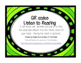 Listening to Reading QR codes