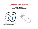 Listening with my Eyes! Social story for teaching eye contact