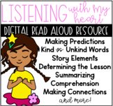 Listening with my Heart Digital Reading Resource for Google Classroom™ Slides™