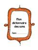 {Listes de Mots Phonétiques!} Word lists for Grade 2 Prima