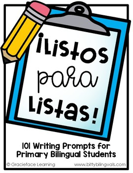 ¡Listos para listas!  50 List Writing Prompts for Primary