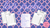 Lists Freebie: 20 Different To-Do Lists!