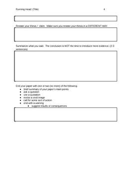 Lit. Analysis Graphic Organizer