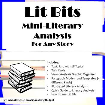 Lit Bits: Mini Literary Analysis (For Any Story)