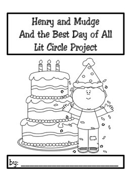 Lit Circle Project Henry and Mudge and the Best Day of All