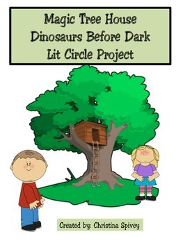 Lit Circle Project Magic Tree House Dinosaurs Before Dark