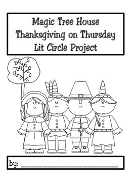 Lit Circle Project Magic Tree House Thanksgiving on Thursday