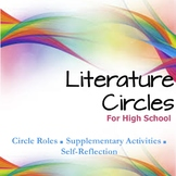Literature Circles for High School - Roles, Assignments, and Evaluation Sheets