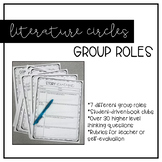 Lit Circles/Book Club Roles - Activities for ANY Novel Study!