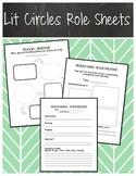 Lit Circles Role Sheets