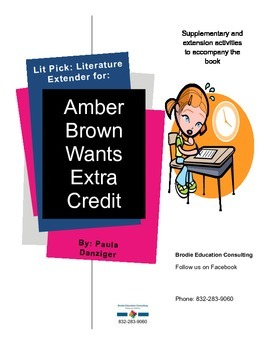 Lit Picks: Amber Brown Wants Extra Credit