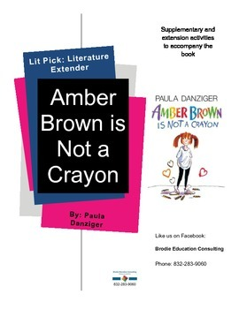Lit Picks: Amber Brown is Not a Crayon