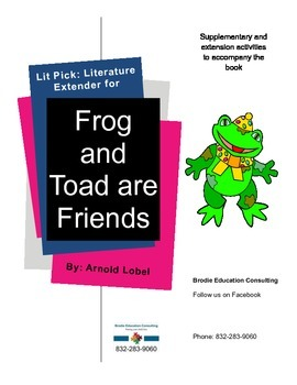 Lit Picks: Frog and Toad are Friends