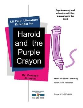Lit Picks: Harold and the Purple Crayon