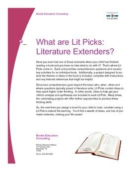 Lit Picks: Literature Extenders Information