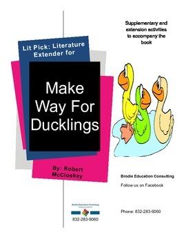 Lit Picks: Make Way For Ducklings