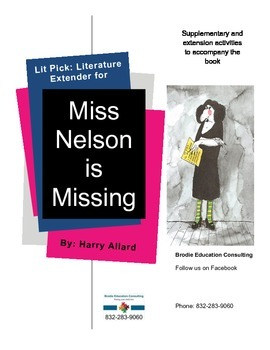 Lit Picks: Miss Nelson is Missing