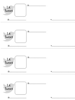 Lit Tweets: Use Twitter's Format for a Micro-Assessment!