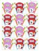 Lit des monstres (number math activities)