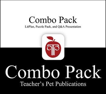 LitPlan Combo Pack Animal Farm: Lesson Plans, Puzzles, Worksheets & More
