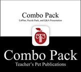 LitPlan Combo Pack Black Boy: Lesson Plans, Puzzles, Worksheets   & More