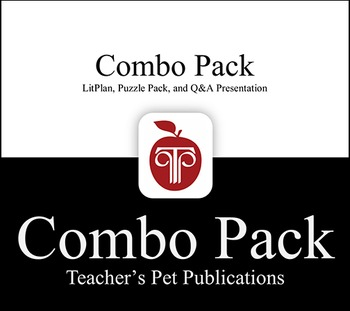 LitPlan Combo Pack The Glass Menagerie: Lesson Plans, Puzzles, Worksheets...