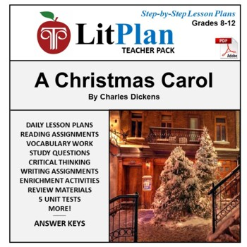 LitPlan Teacher Guide: A Christmas Carol - Lesson Plans, Q