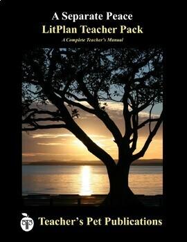 LitPlan Teacher Guide: A Separate Peace - Lesson Plans, Questions, Tests