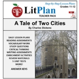 LitPlan Teacher Guide: A Tale of Two Cities - Lesson Plans