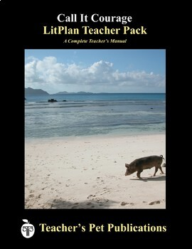 LitPlan Teacher Guide: Call It Courage - Lesson Plans, Questions, Tests
