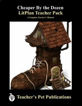 LitPlan Teacher Guide: Cheaper By The Dozen - Lesson Plans, Questions, Tests