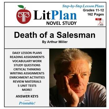 LitPlan Teacher Guide: Death of a Salesman - Lesson Plans, Questions, Tests