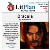 LitPlan Teacher Guide: Dracula - Lesson Plans, Questions, Tests