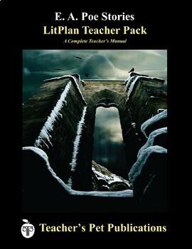 LitPlan Teacher Guide: E. A. Poe Stories - Lesson Plans, Questions, Tests