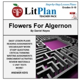 LitPlan Teacher Guide: Flowers For Algernon - Lesson Plans
