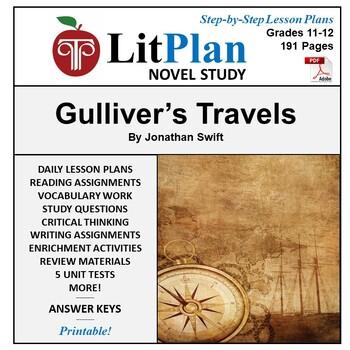 LitPlan Teacher Guide: Gulliver's Travels - Lesson Plans,