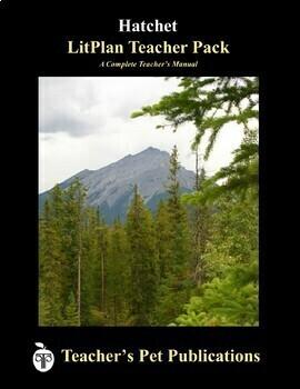 LitPlan Teacher Guide: Hatchet - Lesson Plans, Questions, Tests