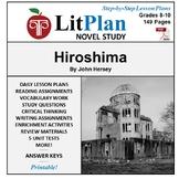 LitPlan Teacher Guide: Hiroshima - Lesson Plans, Questions, Tests