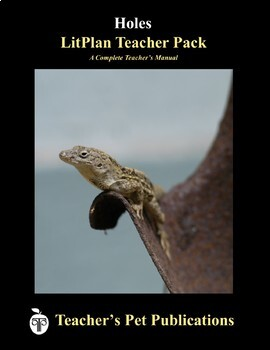 LitPlan Teacher Guide: Holes - Lesson Plans, Questions, Tests