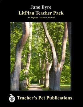 LitPlan Teacher Guide: Jane Eyre - Lesson Plans, Questions, Tests