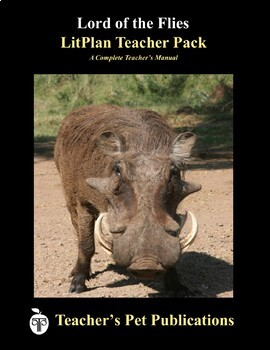 LitPlan Teacher Guide: Lord of the Flies - Lesson Plans, Questions, Tests